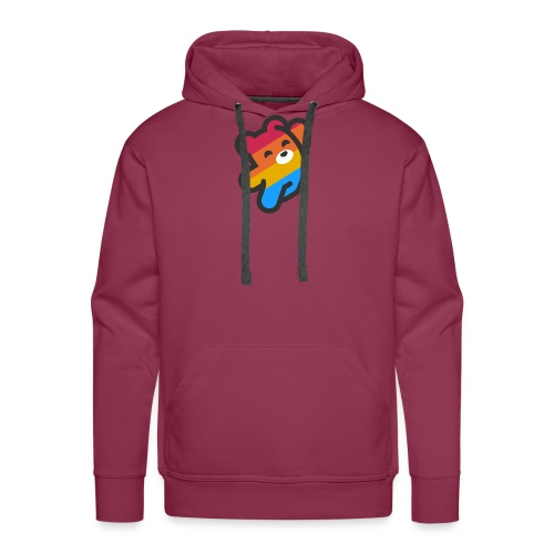 fire as life - Men's Premium Hoodie