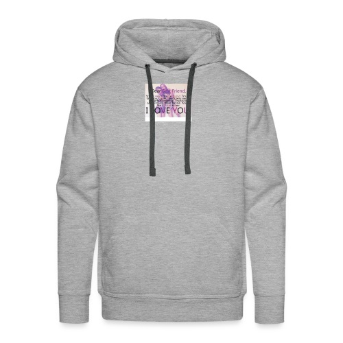 Cute best friends - Men's Premium Hoodie