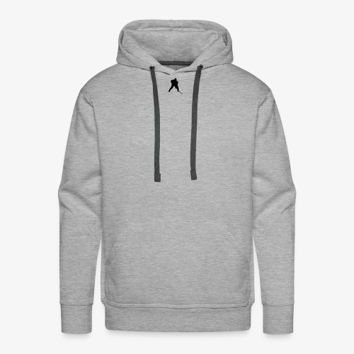 Grey Hockey Sweater - Men's Premium Hoodie