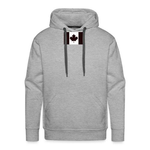 Military canadian flag - Men's Premium Hoodie