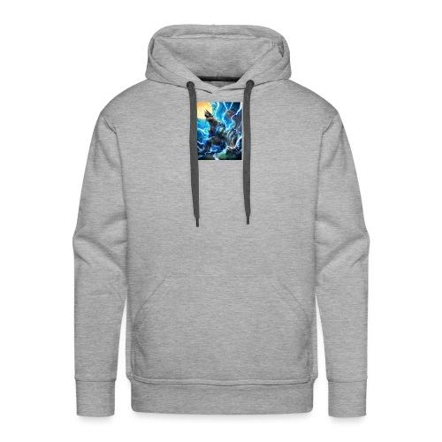 Blue lighting dragom - Men's Premium Hoodie