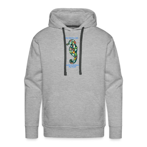 Our Marine Life Has Been Replaced By Trash - Men's Premium Hoodie