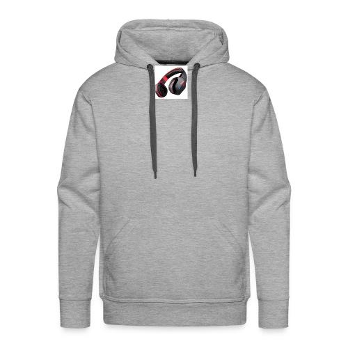 headphones - Men's Premium Hoodie