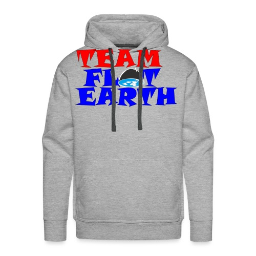 TEAM FLAT EARTH - Men's Premium Hoodie