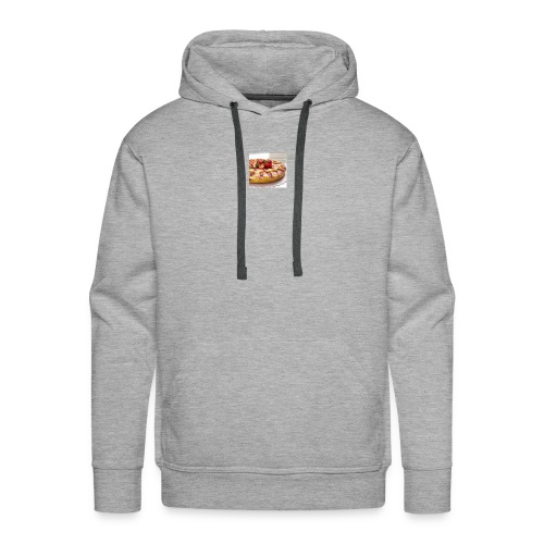 peach strawberry upside down cake 80 - Men's Premium Hoodie