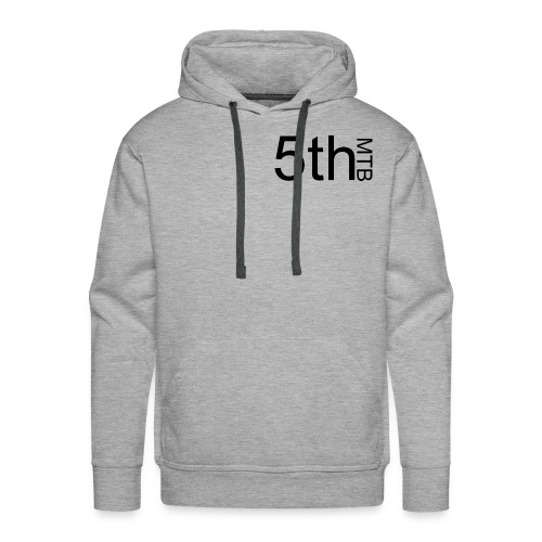 Black original logo - Men's Premium Hoodie