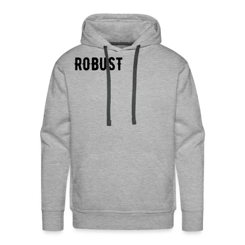 Robust Text - Men's Premium Hoodie