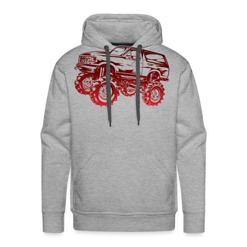 Mega Mud Ford Bronco Red - Men's Premium Hoodie