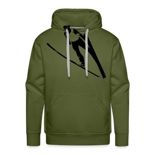 Ski Jumper - Men's Premium Hoodie
