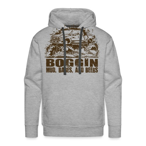 Mud Truck Beer Boggin - Men's Premium Hoodie