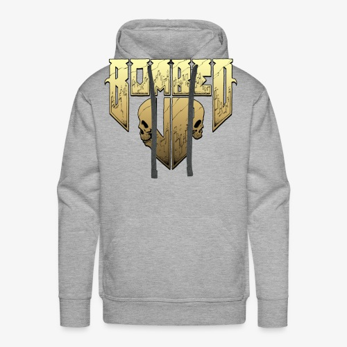 Bombed Up logo - Men's Premium Hoodie