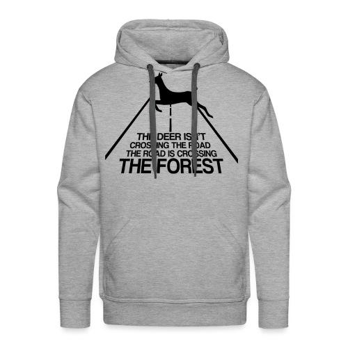 Deer's forest - Men's Premium Hoodie
