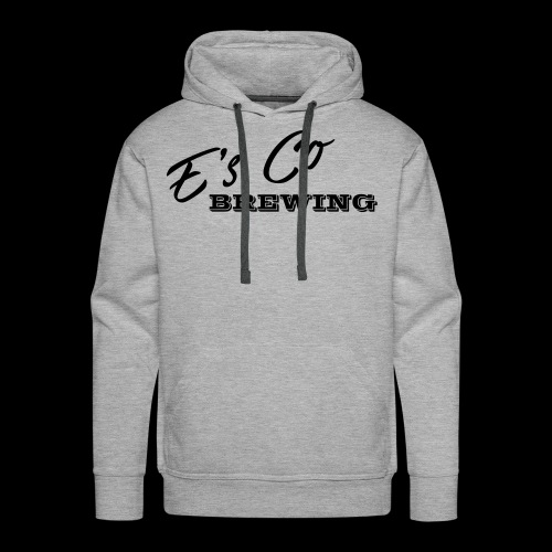 Es Co Brewing OG Logo Black - Men's Premium Hoodie