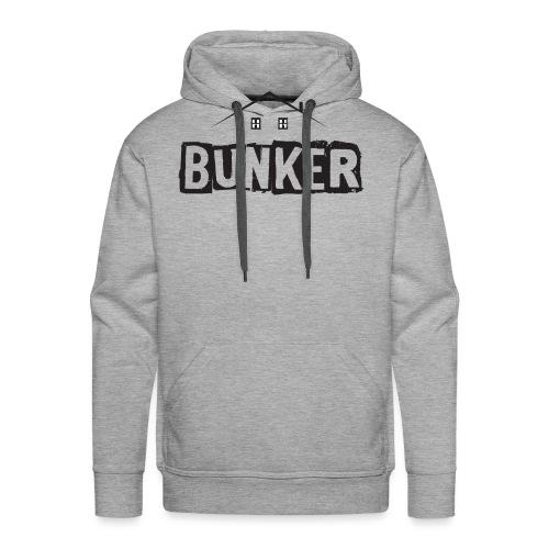 Balck BUNKER - Men's Premium Hoodie