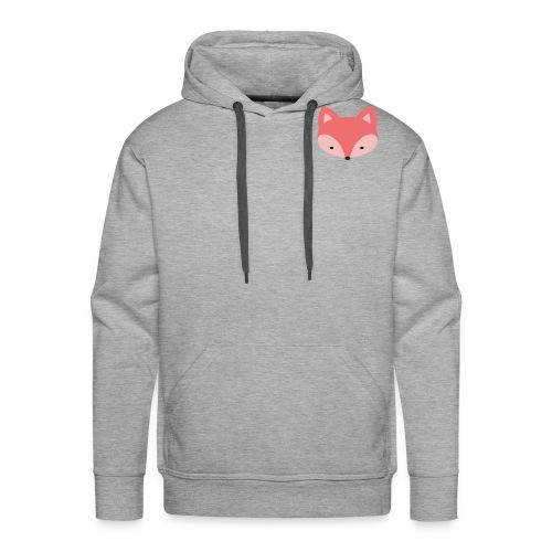 Fox Gift Logo - Men's Premium Hoodie