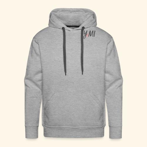 LYMI Logo Horizontal Grey - Men's Premium Hoodie