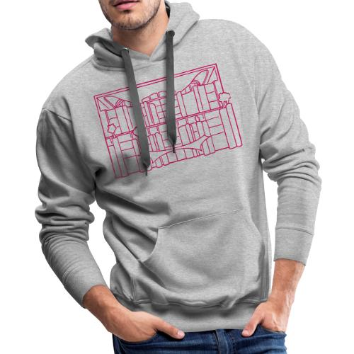 Chancellery in Berlin - Men's Premium Hoodie