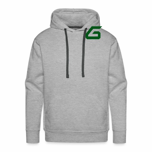 The New Era M/V Sweatshirt Logo - Green - Men's Premium Hoodie