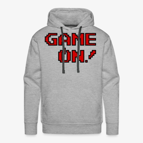 Game On.png - Men's Premium Hoodie