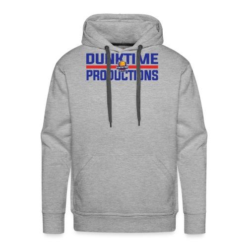 DUNKTIME Retro logo - Men's Premium Hoodie