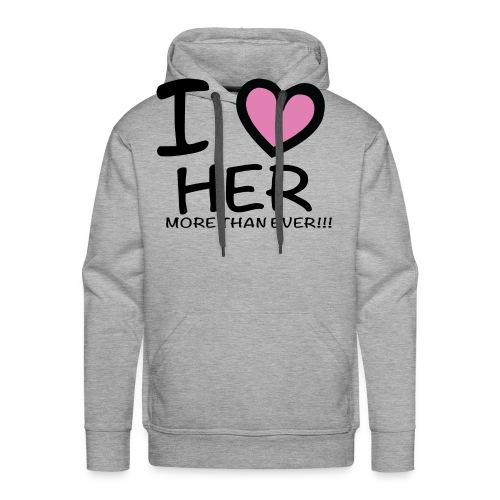 ILOVEHER - Men's Premium Hoodie