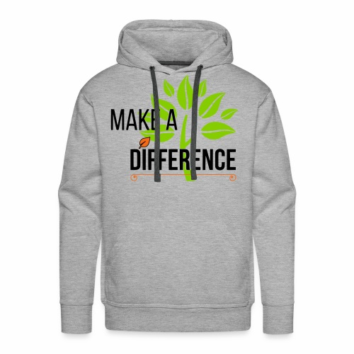 TLG - Make a Difference - Men's Premium Hoodie