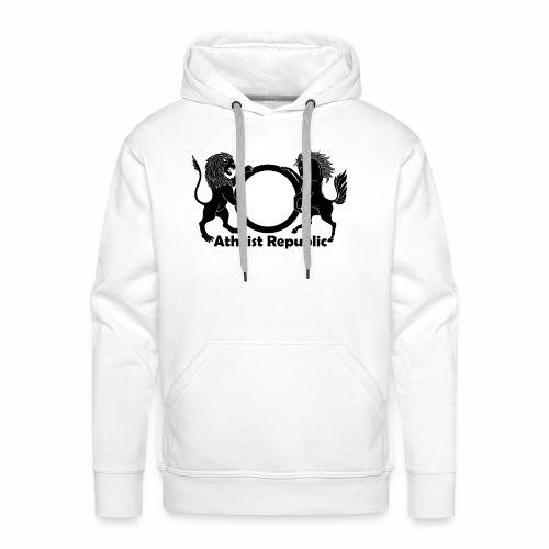 Atheist Republic Logo - Black - Men's Premium Hoodie
