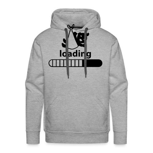 loading baby incoming - Men's Premium Hoodie