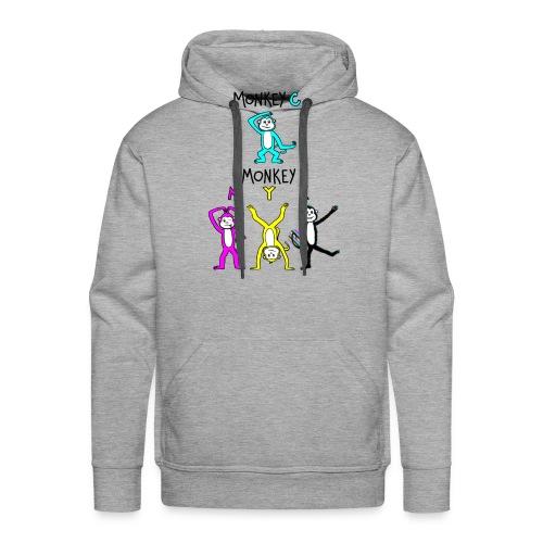 monkey see myk - Men's Premium Hoodie