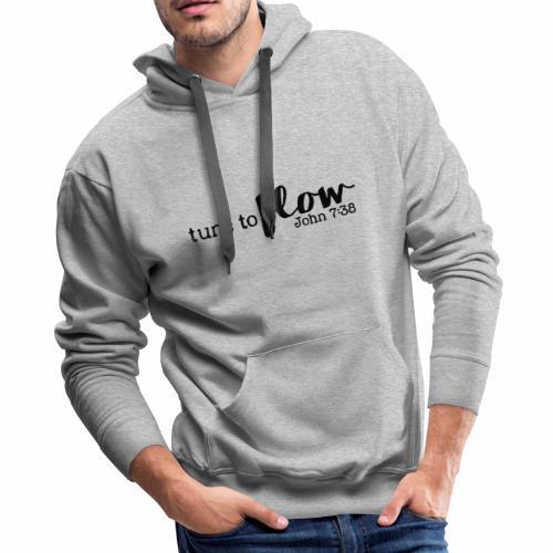 Tune to Flow - Design 3 - Men's Premium Hoodie