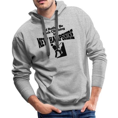 Rock Climbing New Hampshire - Men's Premium Hoodie