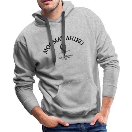 Moomat Ahiko classic black 1 - Men's Premium Hoodie