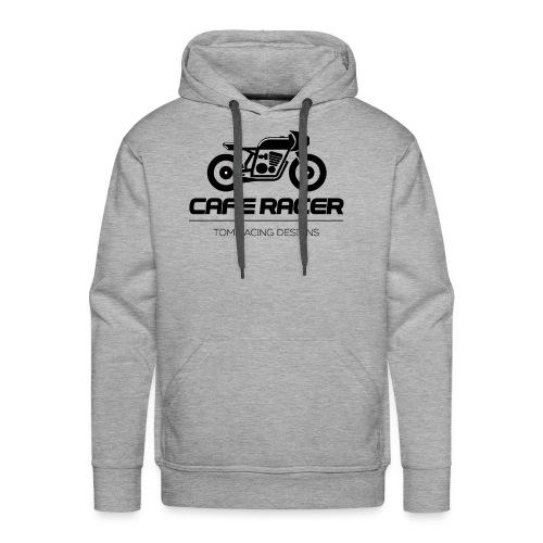 Cafe Racer minimalist logo - Men's Premium Hoodie
