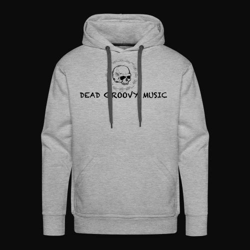 Dead Groovy Music - Basic Logo - Men's Premium Hoodie
