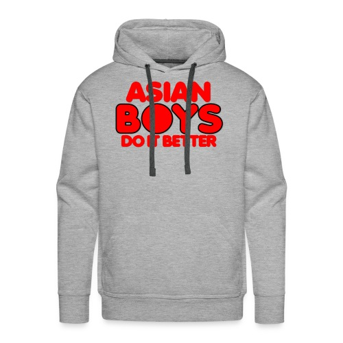 2020 Boys Do It Better 02 Asian - Men's Premium Hoodie