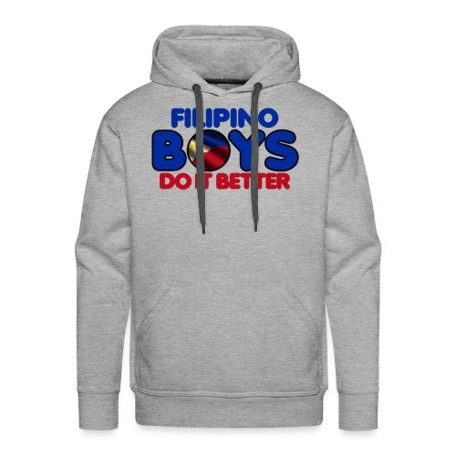2020 Boys Do It Better 05 Filipino - Men's Premium Hoodie