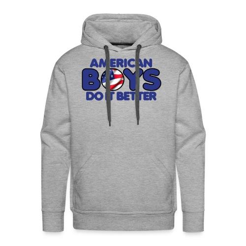 2020 Boys Do It Better 03 American - Men's Premium Hoodie