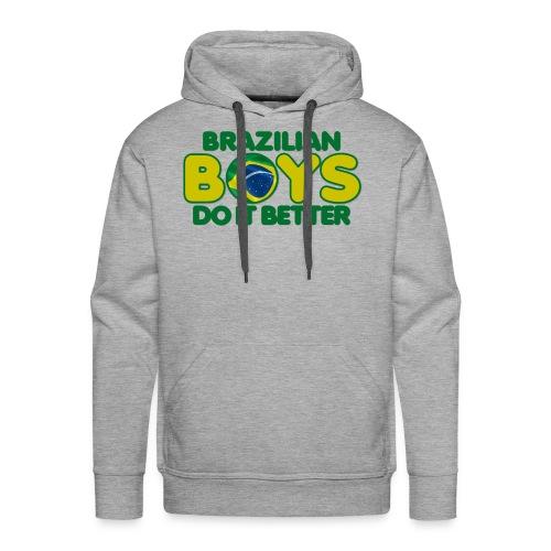 2020 Boys Do It Better 09 Brazil - Men's Premium Hoodie