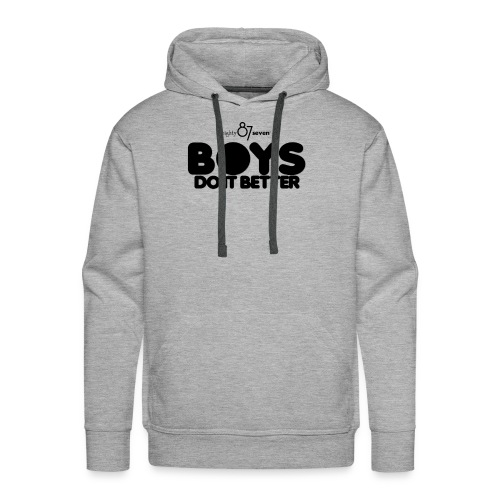 2020 Boys Do It Better 01 Plain 87 - Men's Premium Hoodie
