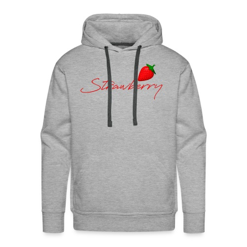 Strawberry Forever 1 - Men's Premium Hoodie