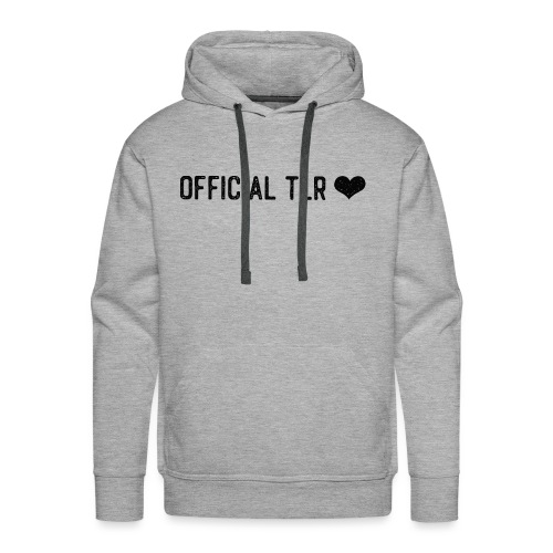 Official TLR ❤️- Black Font - Men's Premium Hoodie