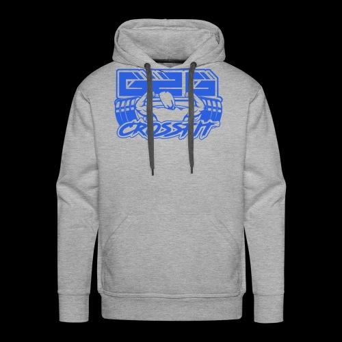 Ocean Blue Full G2G Logo - Men's Premium Hoodie