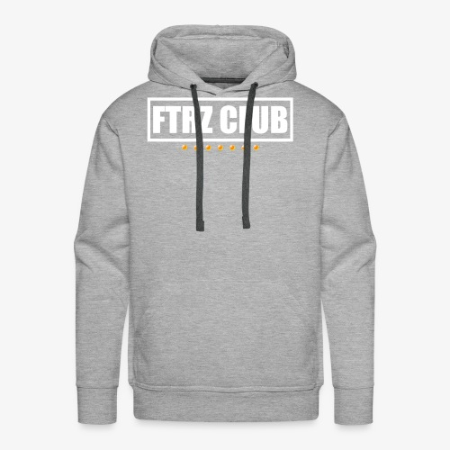 Ftrz Club Box Logo - Men's Premium Hoodie