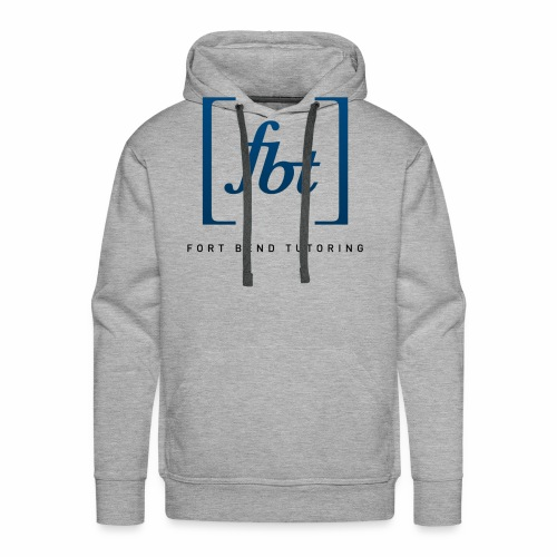 Fort Bend Tutoring Logo [fbt] - Men's Premium Hoodie