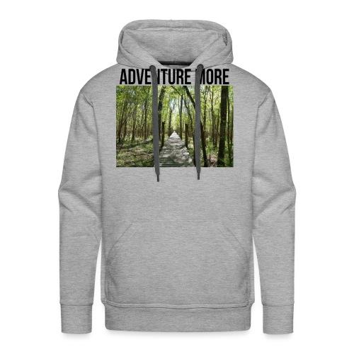 adventure more - Men's Premium Hoodie