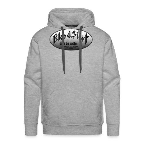 BloodShot Logo Black/White - Men's Premium Hoodie