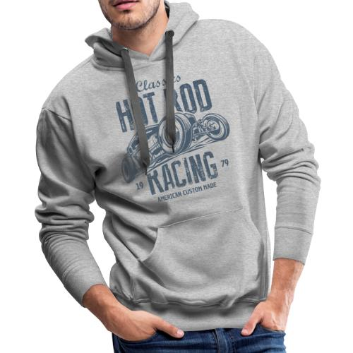 hot rod american cars - Men's Premium Hoodie