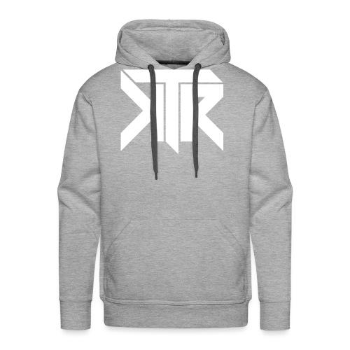 KTR Logo White - Men's Premium Hoodie