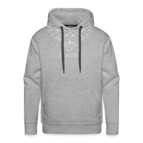 GENERIX Logo and Text Combination - Men's Premium Hoodie