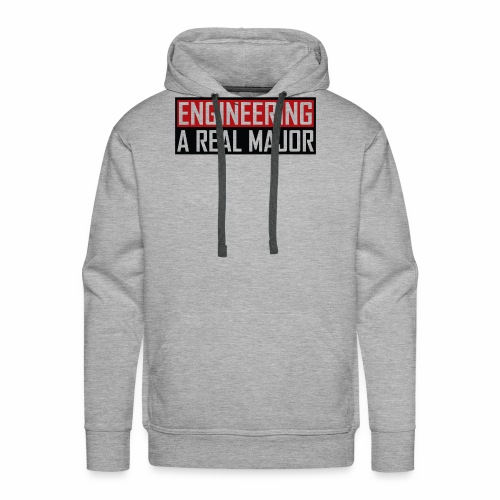 Engineering T-Shirts and Apparel - Men's Premium Hoodie